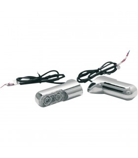 Intermintentes Bolt-on Led Ambar Trasero FXD/XL/FX
