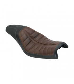 Asiento Enzo Brown 2-up HD Sporster 04-13