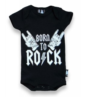 Body para Bebé Born To Rock